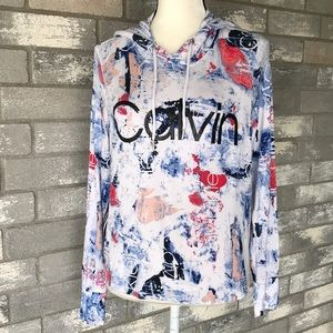 Calvin Klein Performance pullover hoodie size S/P